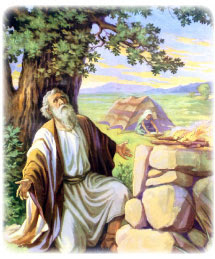 Abram builds and altar