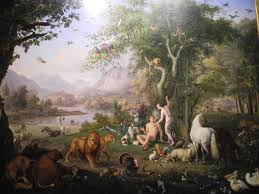 In his book, This Strange and Sacred Scripture, Schlimm argues that the story of the Garden of Eden should be read symbolically.