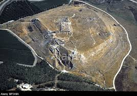 Tel Lachish was an important fortified city of Judah in biblical times