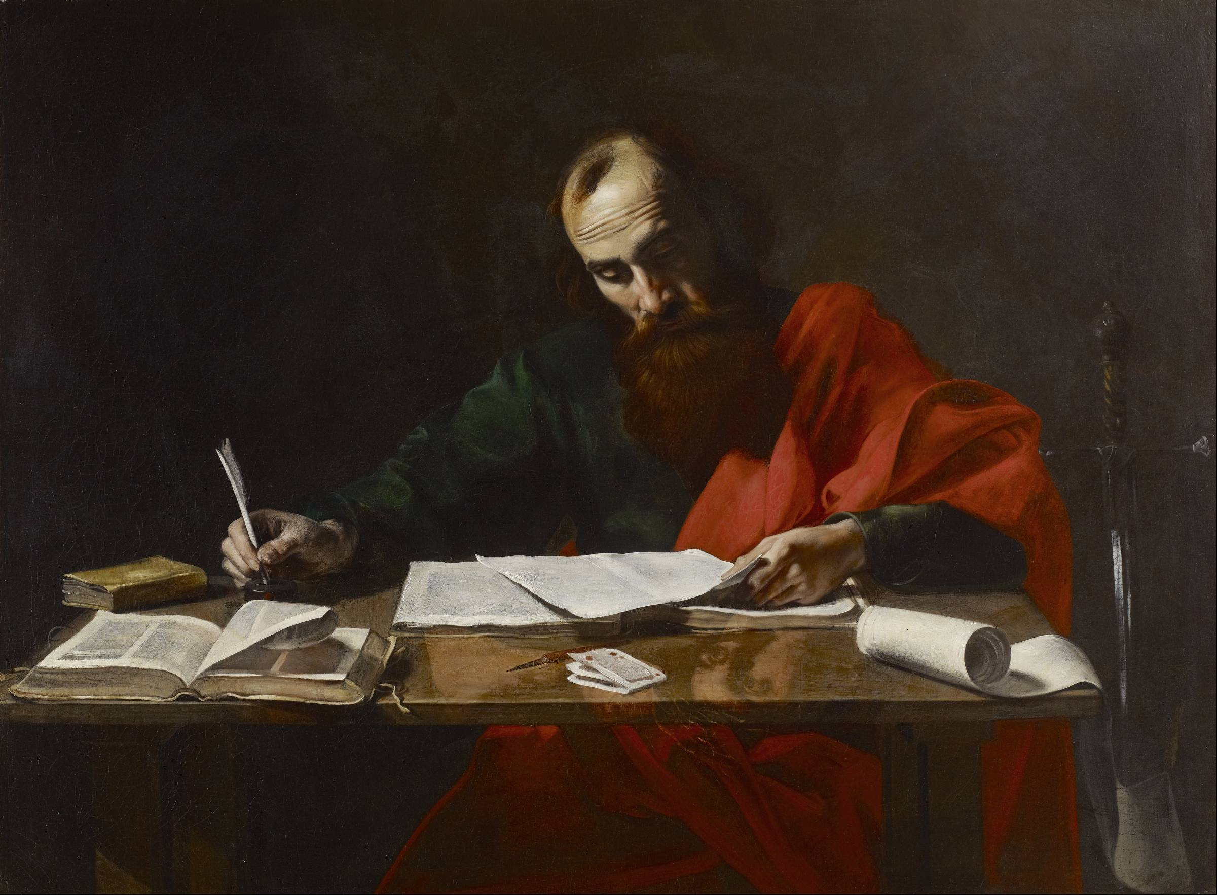This image of Paul the letter writer is full of incorrect assumptions.